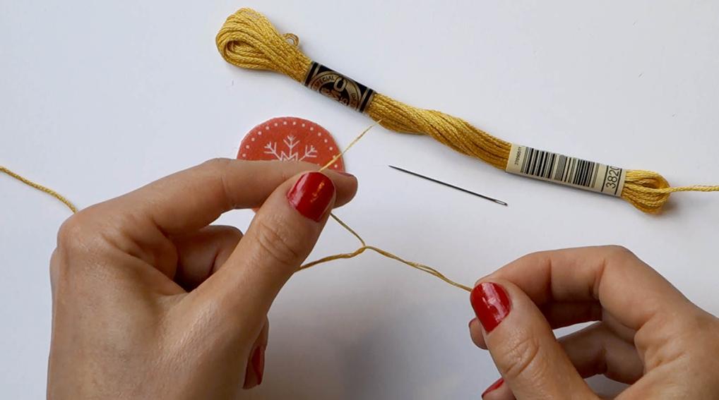 """Kit DIY Merry Christmas tree_Tuto """"préparer une aiguillée"""""""