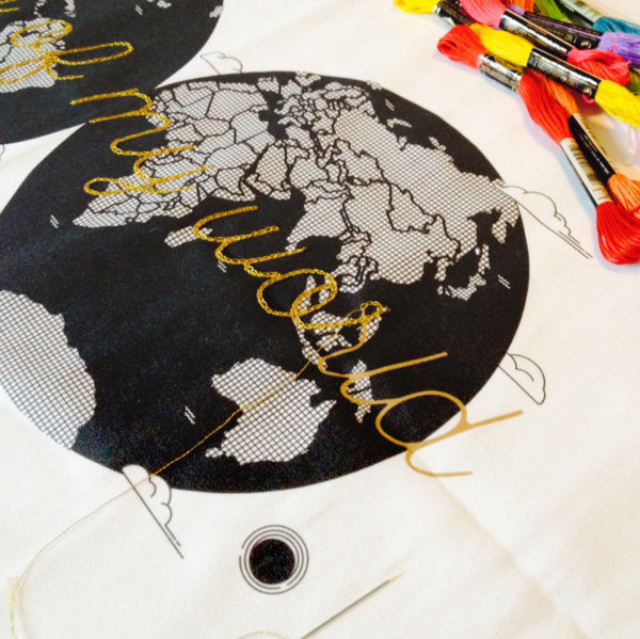 Map-Of-My-World_Planisphere _ Kit broderie-Noodle_Ready to be made