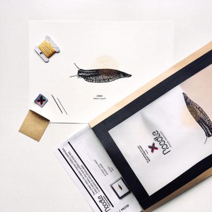 LIMAX, Kit de Broderie sur papier